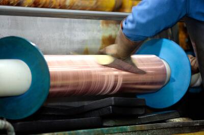 銅メッキ処理